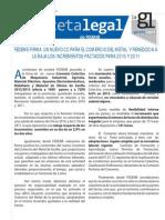 Gaceta Legal Octubre 2012