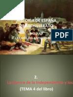 HISTORIA DE ESPAÑA TEMA 2