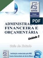 Administracao Financeira e Orcamentaria Unid2
