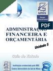 Administracao Financeira e Orcamentaria Unid5