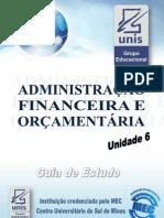 Administracao Financeira e Orcamentaria Unid6