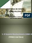 HISTORIA DE ESPAÑA TEMA 5