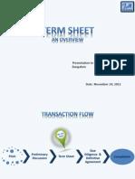 Term Sheet 24 11 2012