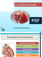 Fisiologia Cardiovascular Propiedades del miocito cardiaco