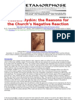 Vassula Ryden-The Reasons for the Church's Negative Reaction