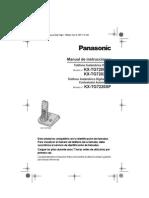 Manual Teléfono Panasonic KX-TG700