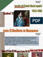 Tema 5. Reinado de Isabel II.