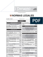 Ley 29944 Ley de La Reforma Magisterial Promulgada 25-11-2012