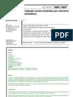 NBR 10897 - 2003 - Proteção Contra Incêndio por Chuveiro Automático