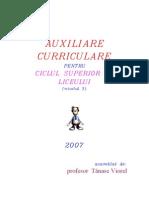 Auxiliare curriculare