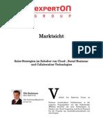 Experton Group Marktsicht; Sales-Strategien Im Zeitalter Von Cloud-, Social-Business- Und Collaboration-Technologien