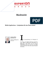 Experton Group Marktsicht; Mobile Applications – Leitplanken für das Chaos setzen!