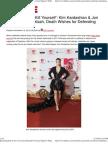 Kim Kardashian & Jon Lovitz Face Backlash Over Israel Support