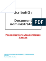 DPA [MF] [Document Administrateur ScribeNG] [VERSION 2.2] [07!05!2009]