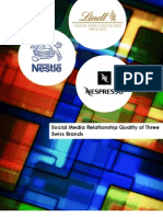 Report_Social media relationship quality of Nespresso Lindt Nestlé