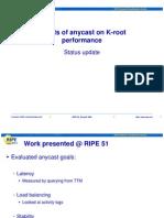 Ripe52 Plenary Kroot Anycast