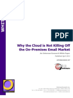 US Cloud vs Email WhitePaper