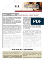 Unit Trusts are they a good investment?