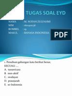 TUGAS SOAL EYD