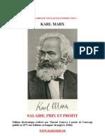 Marx Salaire Prix Et Profit