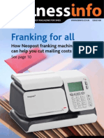 Neopost Franking Machines Cut Costs