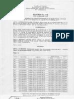 Acuerdo 118 Cierre de Juzgados Noviembre de 2012