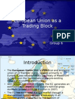 European Union as a trade block
