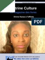 La Lettrine Culture Novembre 2012