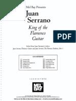 Juan Serrano - King of the Flamenco Guitar (Book)