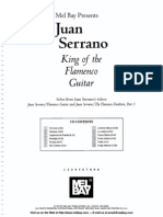 Juan Serrano - King of the Flamenco Guitar (Book)