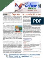 CetimeNews.N.60.Novembre.2012