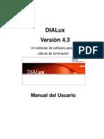 Manual Dialux 4.3