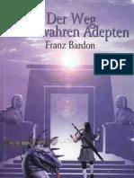 Franz Bardon - Der Weg zum wahren Adepten (InhaltsVZ)