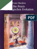 Franz Bardon - Die Praxis der magischen Evokation (InhaltsVZ)