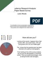 Audience Paper Analysis Copy