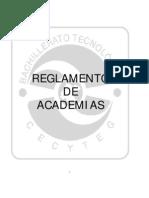 Reglamento de Academias