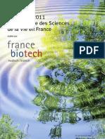 Panorama 2011 de l'Industrie des Sciences de la Vie en France
