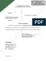 AL - McInnish & Goode - 2012-11-20 - AL Dem Party Joinder in Defendant