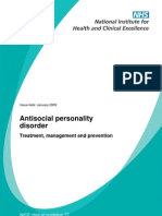 Antisocial Personality Disorder_NICE