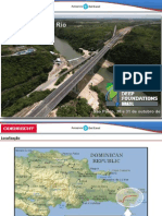 Deep Foundations - Ponte Rio Chavón - Odebrecht