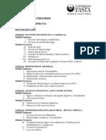 Programa Universidad Fasta