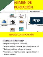 CLASE DERECHO ADUANERO N° 5 RÉGIMEN DE EXPORTACIÓN