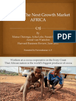 Cracking the Next Growth Market - Africa