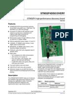 Stm32f4 Discovery - Tbi Th Ltncb