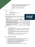 UED PV Grid Connection Procedure v5 0