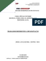 CENTRO UNIVERSITÁRIO METROPOLITANO DE SÃO PAULO