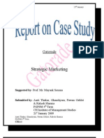 Gatorade Case Stra. Markting Gs