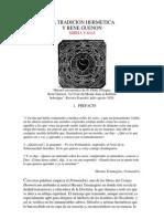 La Tradicion Hermetica y Rene Guenon_mireia Valls