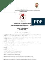 Programma seminario Livorno