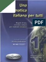 64095582 Una Grammatica Italiana Per Tutti 1 a Latino A1 A2 Livello Elementare